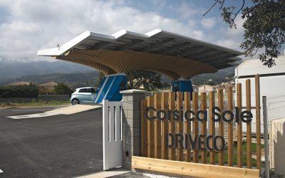 Mise en service du PARASOL DRIVECO de Bastia – Première mondiale