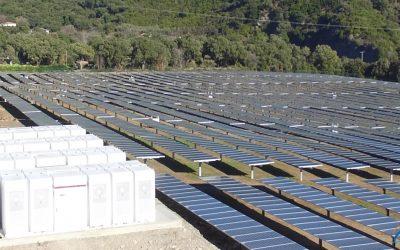 CORSICA SOLE – 1er lauréat de l'appel d'offres CRE pour les projets de stockage centralisé dans les ZNI